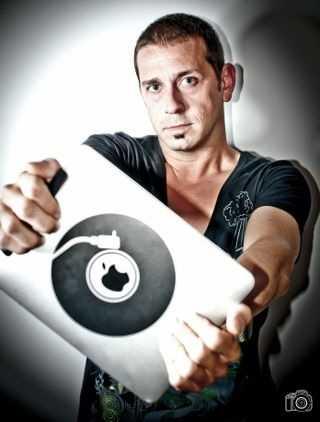 Juanfra con su iPad