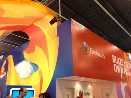 Firefox booth