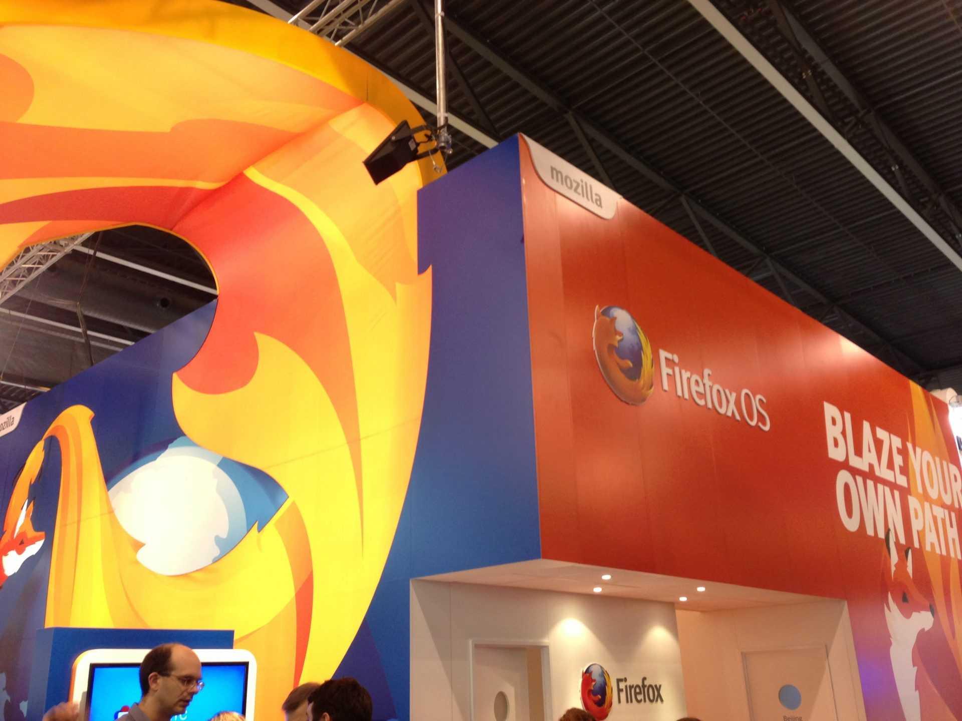 Firefox booth