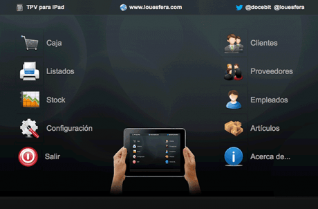 TPV para iPad con FileMaker