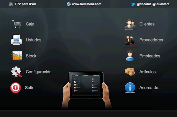 TPV para iPad con FileMaker