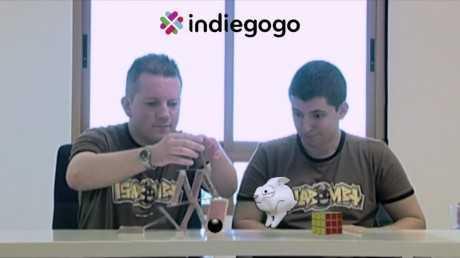 Fragmento de nuestra campaña de crowdfunding en Indiegogo
