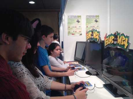 Nuestro stand en la I Murcia Game Party
