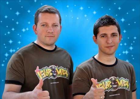 Alberto y Edu Saldaña