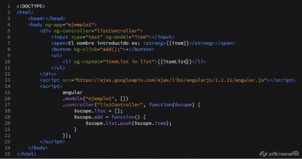 angularjs tutorial 5 controladores