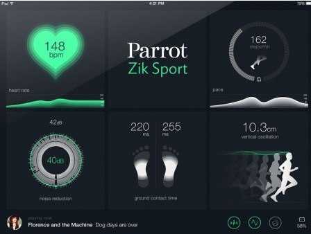 #CES 2015_ Parrot Zik Sport, The most advanced wireless sport headphones | Parrot news
