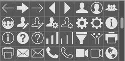 FileMaker iconos de botones