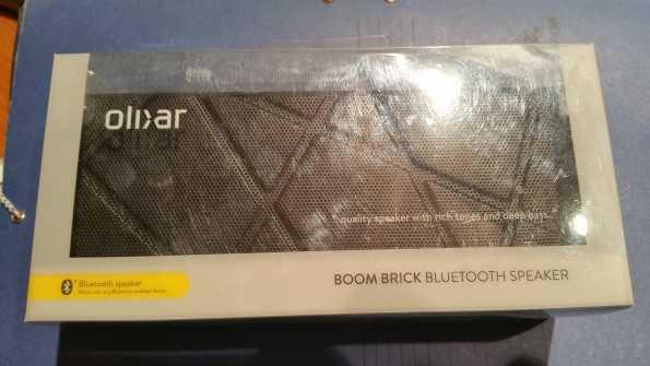 Altavoz Bluetooth Olixar boomBrick