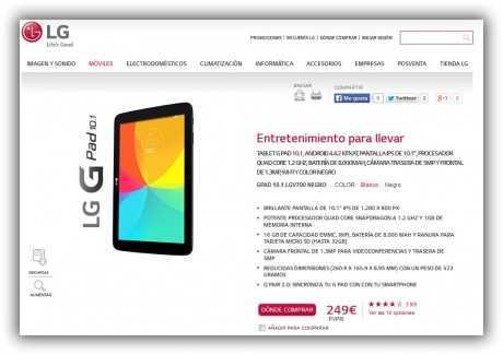 Compra Tablet