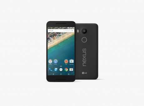 imagen frontal Nexus 5X
