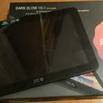 Imagen tablet SPC Dark Glow y su caja
