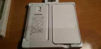 imagen del paquete del kit de carga inalambrica samsung note 4