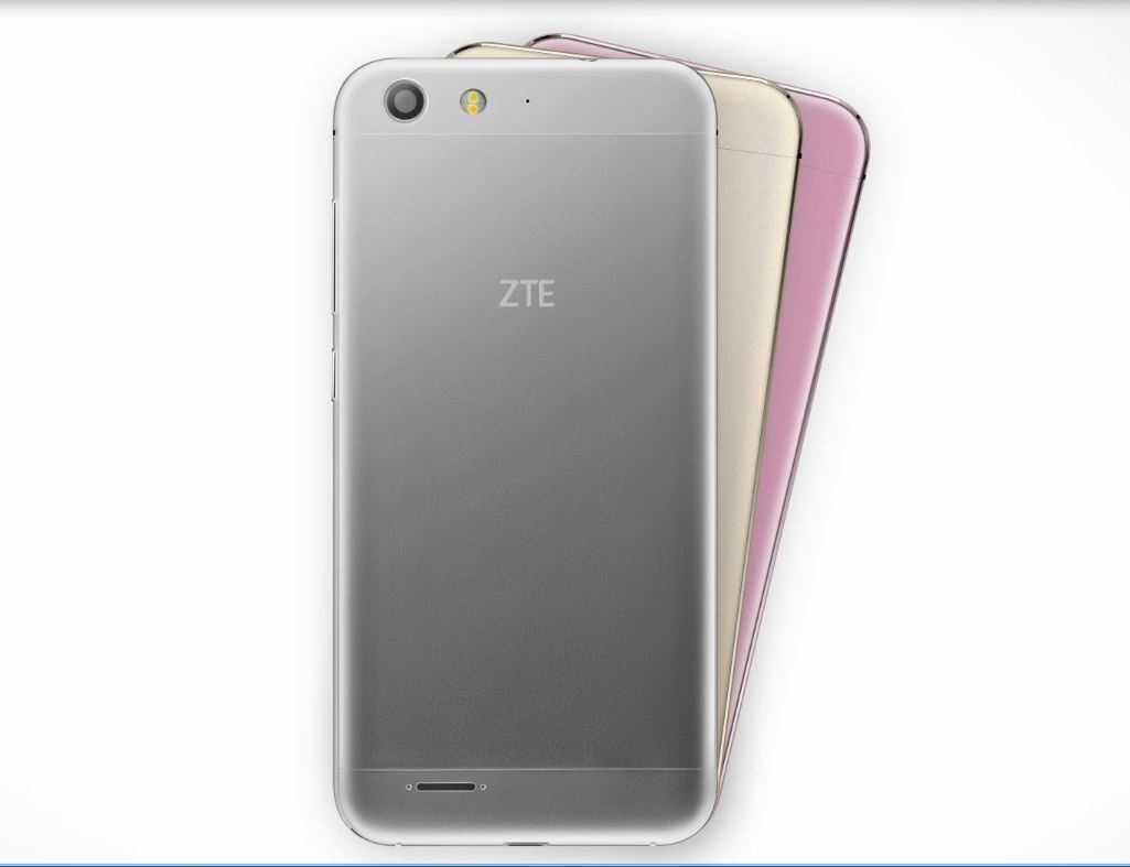 ZTE BladeV6 en diferentes colores (plara, dorado y rosa)