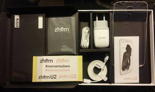 Contenido caja ZHEM-U2