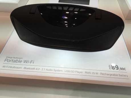Energy multiroom portable WiFi