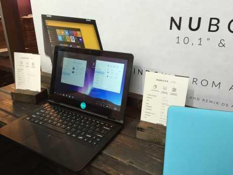 Nubook 11 con RemixOS