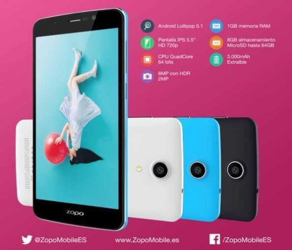 Zopo Color S5.5