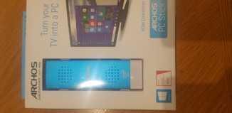 Archos PC Stick Lateral en su caja