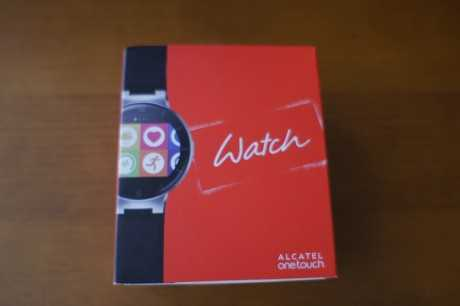 Caja Alcatel Onetouch Watch