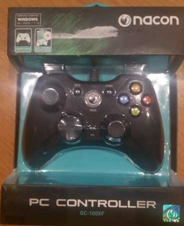 Gamepad gc-100xf de nacon en su caja