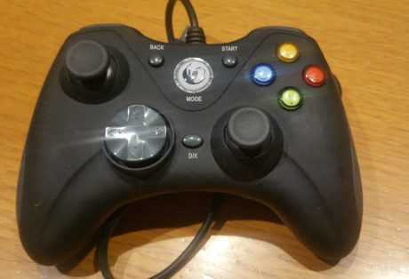 Gamepad GC-100XF vista superior