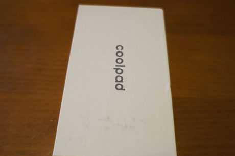 Coolpad Porto S detalle caja