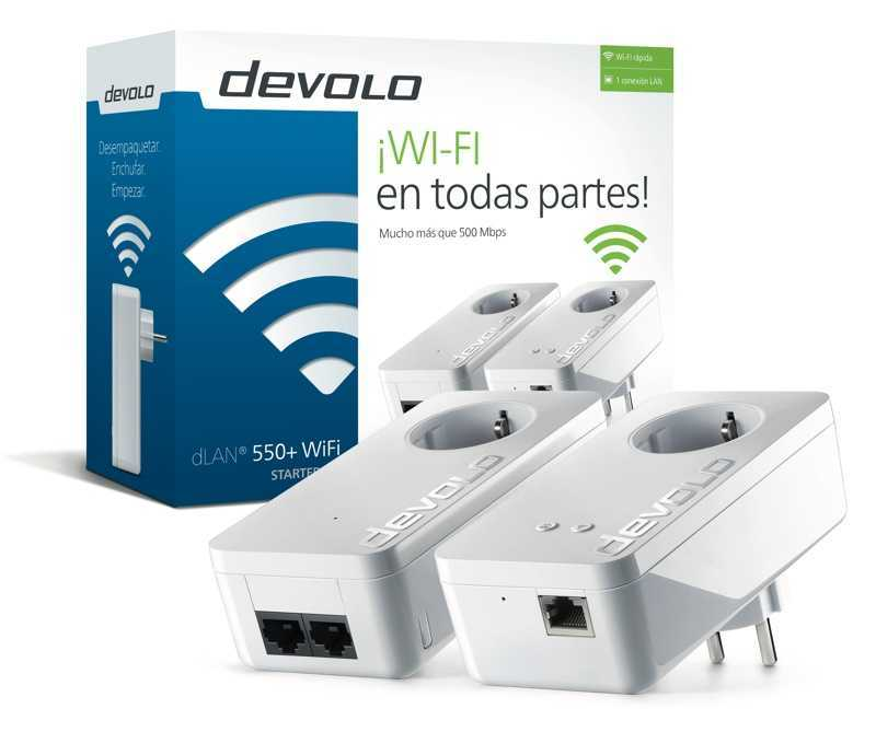 devolo presenta dlan 550 wifi y el nuevo repetidor wifi gigagate en ifa 2016 louesfera. Black Bedroom Furniture Sets. Home Design Ideas