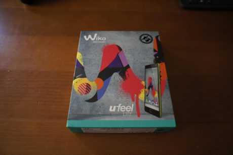 wiko ufeel LITE caja