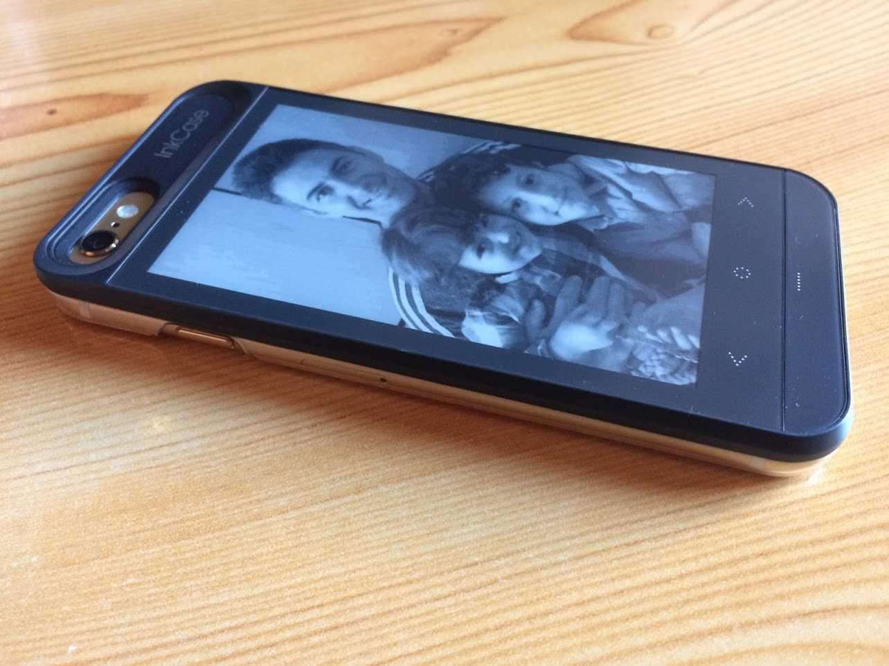 la funda que te proporciona otra pantalla para tu iPhone