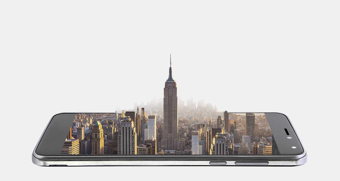 MyWigo City3 Smartphone con batería impresionante