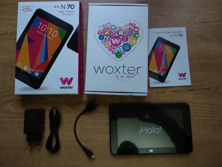 58ee887ce6b Prueba de la tablet Woxter N70, por nuestra pluma invitada, Javier Alfaro
