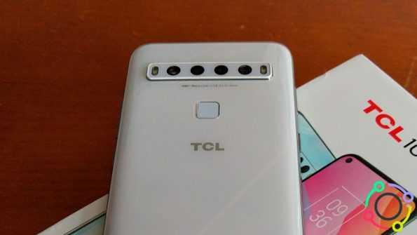 TCL 10L - cámaras