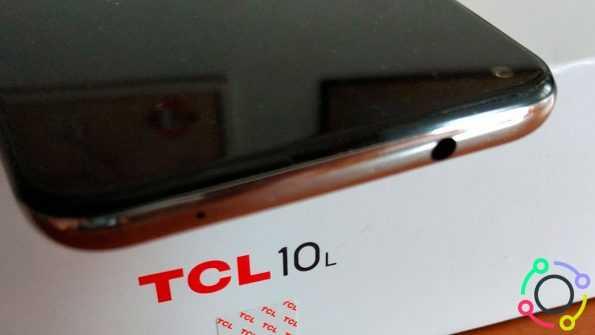 TCL 10L - puerto jack